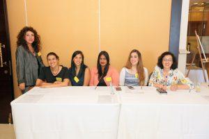 צוות האגודה:  יונית, רותי, שלי, ענבר, אסמה, ג'נין